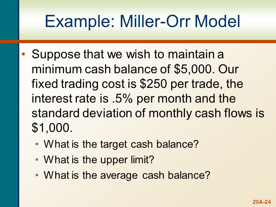 C* = L + [(3/4)F2/R]1/3 C* = $5,000 + [(3/4)($250)($1,0002)/.005]1/3. C* = $5,572.36. U* = 3C* - 2L.